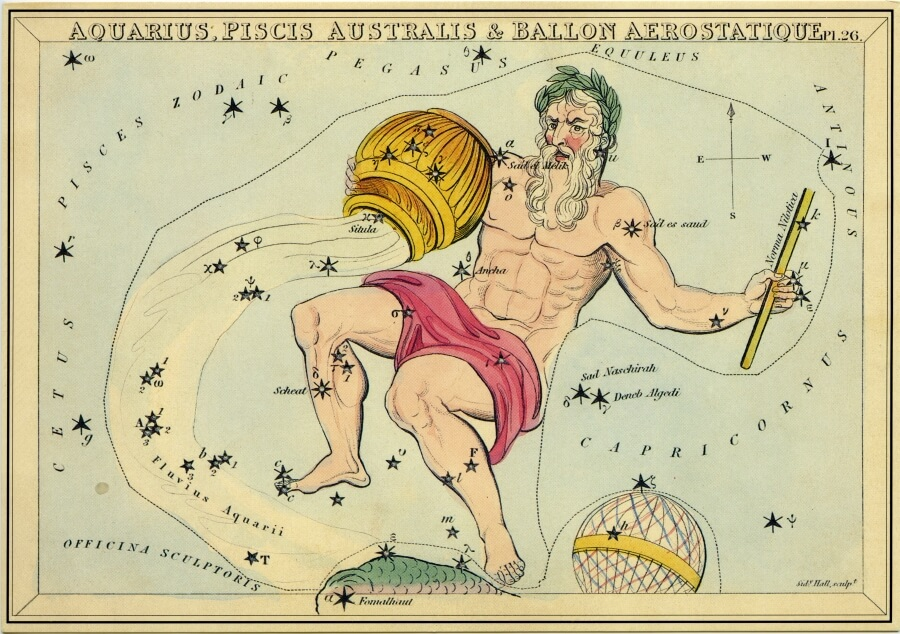 Aquarius image - from The Box of Stars