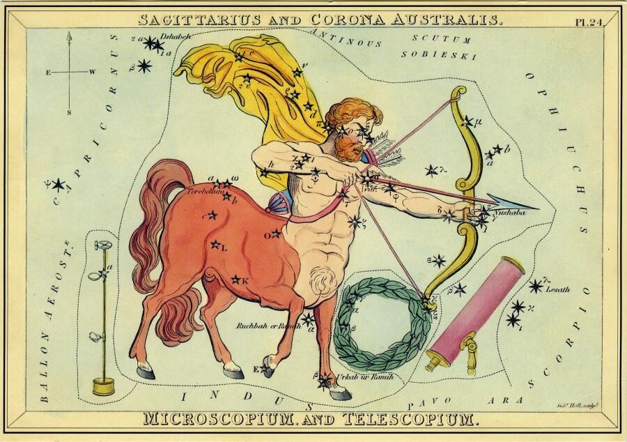 Sagittarius image - from The Box of Stars